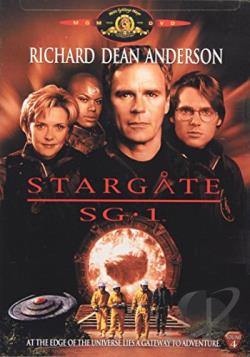 Stargate SG-1 - Season 1: Volume 4 DVD Cover Art