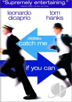 Catch Me If You Can DVD Cover Art