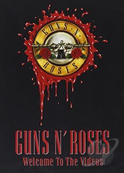Guns N' Roses - Welcome to the Videos DVD Cover Art