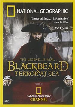 Blackbeard: Terror at Sea DVD Cover Art