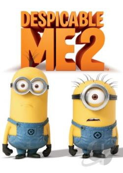 Despicable Me 2 DVD Cover Art