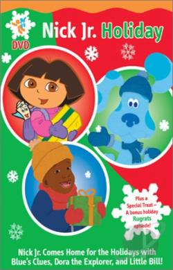 Nick Jr. Holiday DVD Cover Art