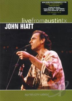 John Hiatt - Live from Austin, Texas DVD Cover Art
