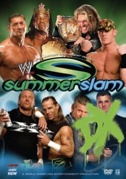 WWE - Summerslam 2006 DVD Cover Art