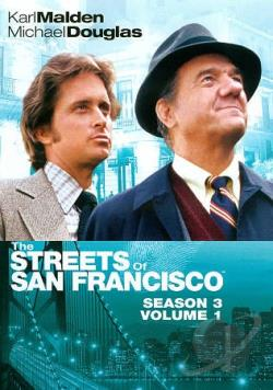 Streets of San Francisco: Season 3, Vol. 1 DVD Cover Art