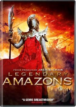 Legendary Amazons DVD Cover Art