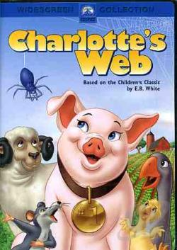 Charlotte's Web DVD Cover Art