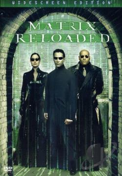 Matrix Reloaded DVD Cover Art