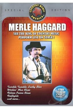 Merle Haggard Live - Vol. 1 DVD Cover Art