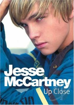 Jesse McCartney - Up Close DVD Cover Art