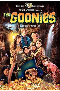 Goonies DVD Cover Art