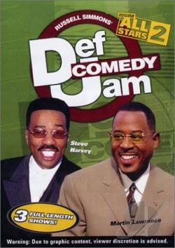Def Comedy Jam: More All Stars - Volume 2 DVD Cover Art