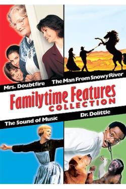 Familytime Features - Box Set DVD Cover Art
