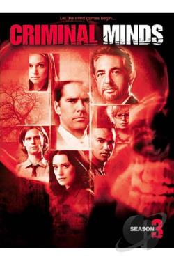 Criminal Minds - The Complete Third Season DVD Cover Art