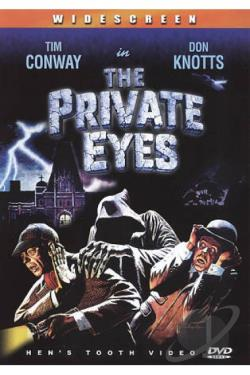 Private Eyes DVD Cover Art