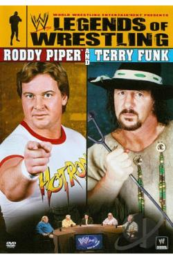 WWE: Legends of Wrestling - Roddy Piper and Terry Funk DVD Cover Art