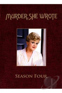 Murder She Wrote - The Complete Fourth Season DVD Cover Art