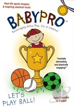 Baby Pro - Let's Play Ball DVD Cover Art