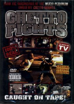 Ghetto Fights DVD Cover Art