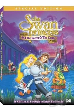 Swan Princess and the Secret of the Castle DVD Cover Art