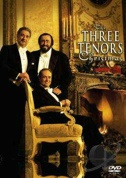 Three Tenors Christmas DVD Cover Art