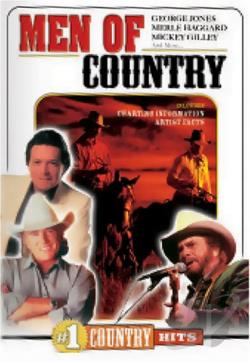 #1 Country Hits: Men Of Country DVD Cover Art
