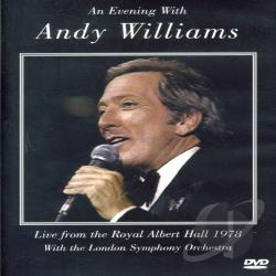 Andy Williams - An Evening With Andy Williams: Royal Albert Hall 1978 DVD Cover Art
