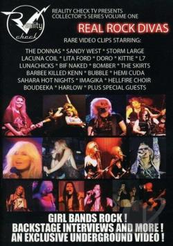 Real Rock Divas - Volume 1 DVD Cover Art