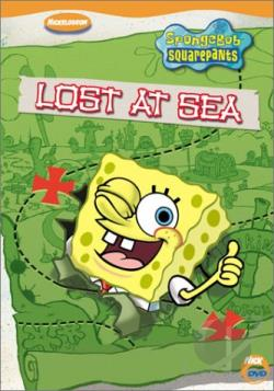 Spongebob Squarepants - Lost at Sea DVD Cover Art