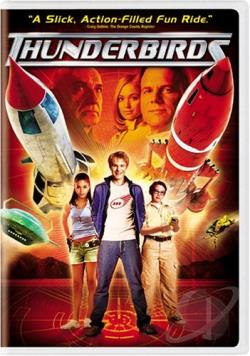 Thunderbirds DVD Cover Art