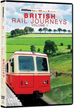 British Railroad Journeys 1 DVD Cover Art