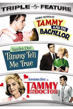 Tammy And The Bachelor/ Tammy Tell Me True/ Tammy And The Doctor DVD Cover Art