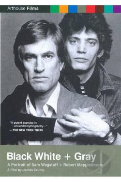 Black White + Gray: A Portrait Of Sam Wagstaff And Robert Mapplethorpe DVD Cover Art