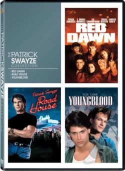 Patrick Swayze Collection DVD Cover Art