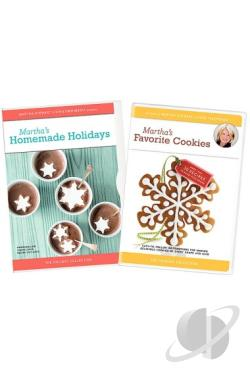 Martha's Favorite Cookies/Martha's Homemade Holidays DVD Cover Art