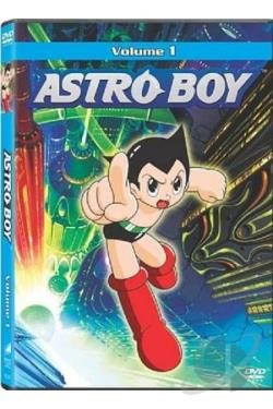 Astro Boy - Vol. 1 DVD Cover Art