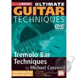 Ultimate Guitar - Tremelo Bar Techniques DVD Cover Art