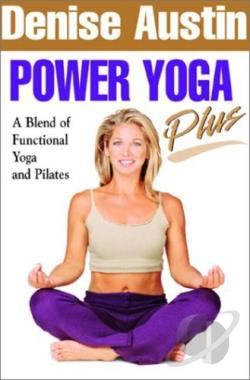 Denise Austin - Power Yoga Plus DVD Cover Art