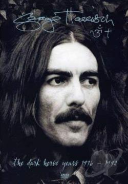 George Harrison - The Dark Horse Years 1976 - 1992 DVD Cover Art