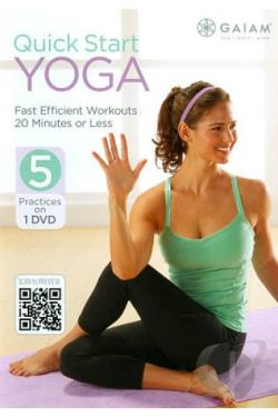 Quick Start Yoga DVD Cover Art
