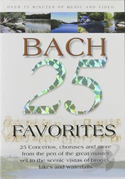 25 Bach Favorites DVD Cover Art