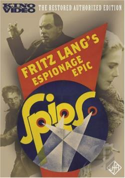 Spies DVD Cover Art
