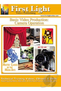 Basic Video Production - Camera Operation DVD Cover Art