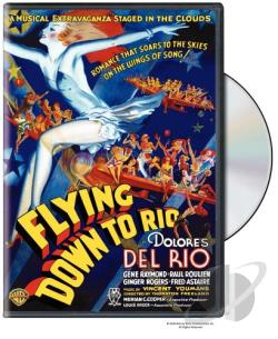 Flying Down To Rio DVD Cover Art