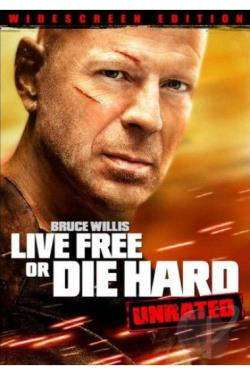 Die Hard 4: Live Free or Die Hard DVD Cover Art