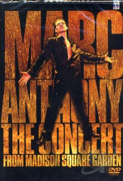 Marc Anthony - The Concert from Madison Square Garden DVD Cover Art