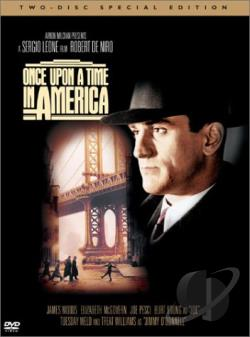 Once Upon a Time in America DVD Cover Art