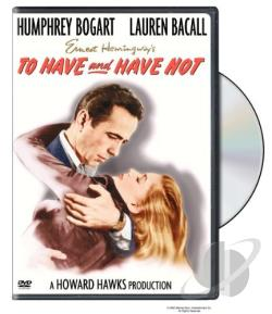 To Have and Have Not DVD Cover Art