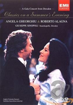 Classics on a Summer Evening - A Gala Concert from Dresden DVD Cover Art