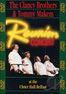 Clancy Brothers and Tommy Makem: Reunion Concert DVD Cover Art